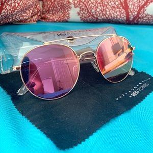 Quay Outshine Pink Sunglasses